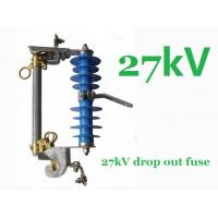 Wholesale Distribution Drop Out Powerline Fuse Cutout 27kv High Impact Resistance from china suppliers