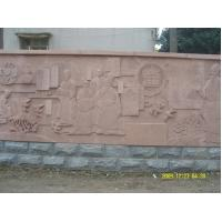 Wholesale Grey Estern Figure Wall Relief Sculptures from china suppliers