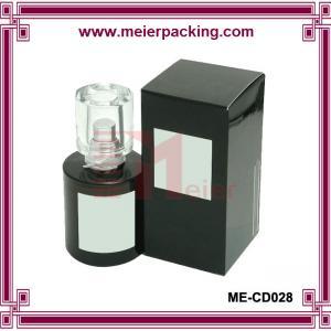 Buy cheap Glossy Paper Perfume Box/Simple Elegant Men Perfume Box ME-CD028 from wholesalers