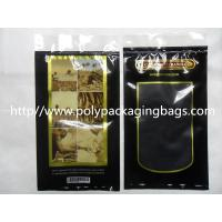 Wholesale Moisturized System Cigar Humidor Bags Ziplock With Slider Easy Open And Close from china suppliers