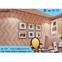 Wholesale Bedroom Luxury Non Woven Wallcovering For Home Decoration , Foam Surface Treatment from china suppliers