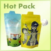 Wholesale Colorful Reusable Squeezable Baby Stand Up Food Pouch Bags For Juice Beverage from china suppliers