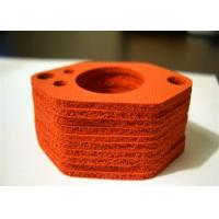 Wholesale UV Resistance Silicone Rubber Washers , Close Sell Silicone Sponge Gasket from china suppliers