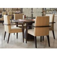 Wholesale 5 Star Hotel Modern Wooden Dining Room Tables , High End Restaurant Furniture from china suppliers