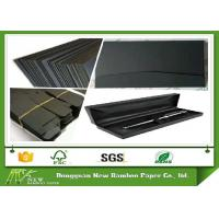 Wholesale Mixed Pulp High Stiff Black Card / One Side Laminated Black Paper Board from china suppliers