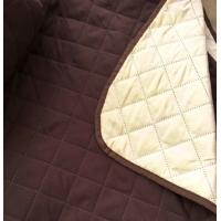 Quality Brown Chocolate Ultrasonic Quited All Size Waterproof Sofa Cover Tpu Lamination for sale