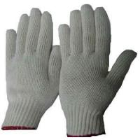 Wholesale Nature white T / C  knitted industry working protective gloves for men from china suppliers