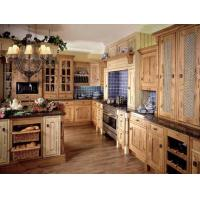 Quality Wood fully assembled bathroom cabinets B-958 for sale