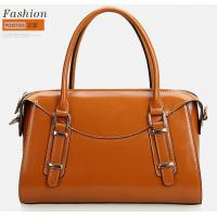 Quality 2014 Spring collection waxy leather tote bags for office lady for sale