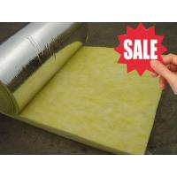 Wholesale cheap glass wool roll insulation materials from china suppliers