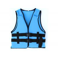 Wholesale Comfortable Blue Watersport Life Jackets Neoprene Swimming Life Jack For Protection from china suppliers