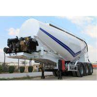 Wholesale Popular 3 axle bulk cement trailer parts bulk semi trailer with Fuwa axle from china suppliers