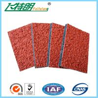 Wholesale Spray Coat System Athletic Rubber Track Flooring Synthetic Run Track Mat from china suppliers