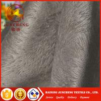 Wholesale Dubai Wholesale cheap burnout velvet fabric bonded with tc fabric for sofa and furniture from china suppliers
