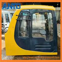 China PC120-6 PC200-6 PC300-6 PC400-6 Operator 's Cab For Komatsu Excavator Cabin Parts on sale