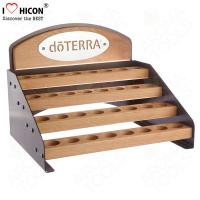 Wholesale Wood 4 Layer Cosmetic Display Stand Custom Cosmetic Retail Displays For Essential Oil from china suppliers