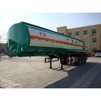 China hot sale fuel diesel tanker truck semi trailers light weight for sale on sale