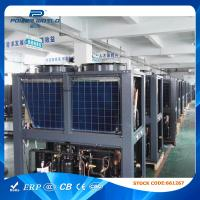 Wholesale 30kw Air Source Heating And Cooling Heat Pump R407C Refrigerant , High Level Of Protection from china suppliers