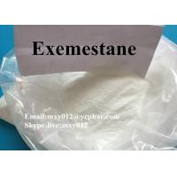 Wholesale Female Steroids Anti-Estrogen Exemestane Aromasin Aromatase 107868-30-4 from china suppliers
