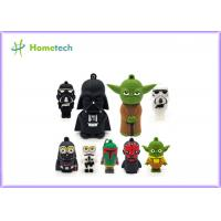 Quality Star Wars Toys Customized Pen Drives 64gb , Cartoon Usb Flash Drive For Gift for sale