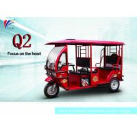 Quality 60V 1000W Electric Open Passenger Motor Tricycle 2800*1160*1760 Mm for sale