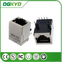 Wholesale Integrated rugged rj45 connectors filter without led for 10/100 BASE - TX , Cylindrical Pin from china suppliers
