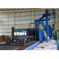 Wholesale Continuous Tunnel Portable Shot Blasting Equipment , Industrial Shot Peening Machine from china suppliers