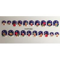 Wholesale Christmas pattern Finger Nail Sticker , Safe and non toxic stickers from china suppliers