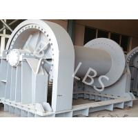 Wholesale Shipyard Low Noise Heavy Industry Windlass Winch With Smooth Drum from china suppliers