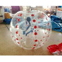 Wholesale Durable TPU Dia 1.5m bubble soccer equipment For Outdoor Sport , printable from china suppliers