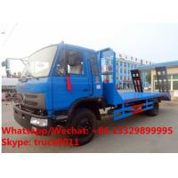Wholesale Customized Factory sale good price dongfeng 8tons,9tons,10tons flatbed transporting truck for sale, from china suppliers