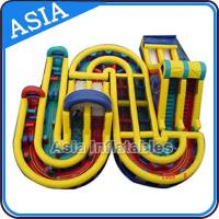 Wholesale 3 years Guaranteed Adrenaline Rush Extreme Inflatable Obstacle Course from china suppliers