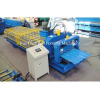 Wholesale Automatic Roof Panel Glazed Tile Roll Forming Machine 4m/Min 3 Phases from china suppliers