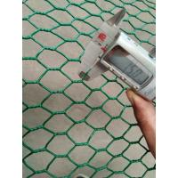 Wholesale 1.5mm Thick PVC Coated Galvanized Hexagonal Wire Mesh Fence Chicken wire Mesh from china suppliers