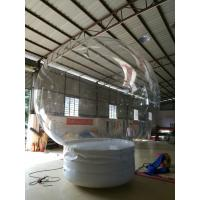 Wholesale 0.8 Mm Transparent PVC Ball Custom Inflatable Products Christmas Rolling Snow Ball from china suppliers