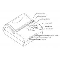 Quality POS8001 80mm Bluetooth Mobile Thermal Printers with SDK for android,IOS phone for sale