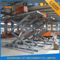 Wholesale 3T 4.6M CE Stationary Hydraulic Scissor Lift , Warehouse Cargo Lift from china suppliers