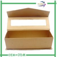 Wholesale Magnetic Golden PET Window Gift  Boxes Roll Embossed Texture from china suppliers