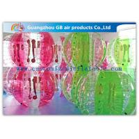 Wholesale Giant Football Game Inflatable Human Hamster Ball For Adults / Kids from china suppliers