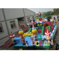 Wholesale Kids Funny Amusement Inflatable Obstacle Playground Equipment With Slides from china suppliers