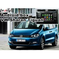 Wholesale VW Tiguan Sharan Passat Skoda Seat etc MQB Car Navigation Box rear view WiFi video cast screen from china suppliers