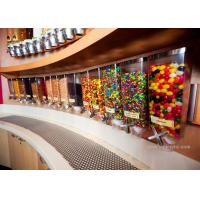 Quality Wall Mounted Perspex / Acrylic Candy Dispenser , Free Design Provided for sale