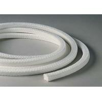 Wholesale White Lattice Braided Teflon Packing , PTFE Packing With Oil Or Without Oil from china suppliers