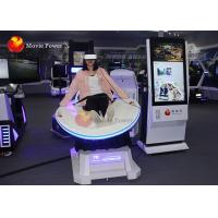 Wholesale Fiberglass Material Virtual Reality Slide / 360-Degree VR Video Game Flight Simulator from china suppliers