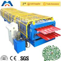 Wholesale High speed double layer building used metal roofing roll forming machine from china suppliers