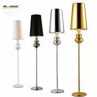 Wholesale Hot sale new modern Floor lamp Villas bedside standing lamps floor lamps for living room bedroom 5 colors lamparas de pi from china suppliers