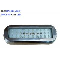 Wholesale 12V DC Rectangle RGB Blue Marine Navigation Light , Marine Underwater Boat Lights from china suppliers