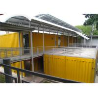 Quality Vinyl Sheet  Steel Structure Building 6055mm x 2435mm x 2790mm for Classroom for sale
