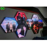 Wholesale P3.9 Shape Video Curtain LED Display screen for Advertising , High Resolution from china suppliers
