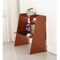 Wholesale Walnut Color Wooden Computer Office Desks , Modern Standing Living Room Writing Furniture from china suppliers